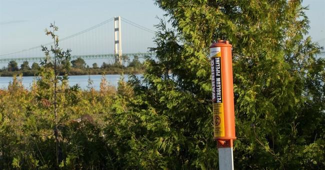 Enbridge insists pipelines safe despite worn-away covering