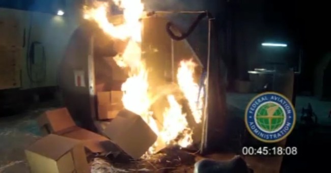 Rechargeable lithium batteries come with fire risks