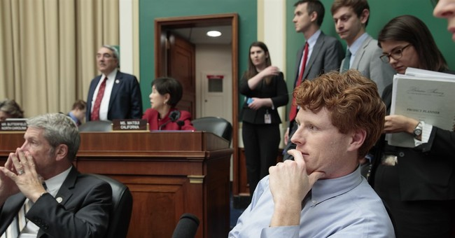 A familiar name: Democrat Kennedy fights GOP on health care