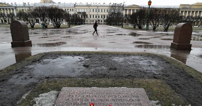 Correction: Russia-Revolution story