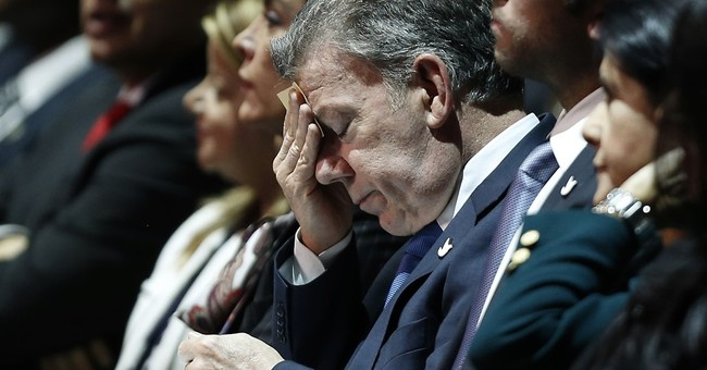 Colombian president apologizes for corrupt firm's donations