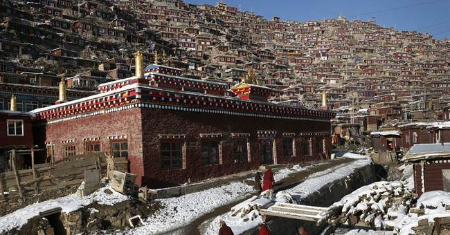 China says rebuilding major western Buddhist learning center