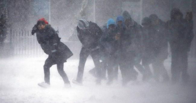 AP PHOTOS: Late-season storm stuns Northeast with snow, wind