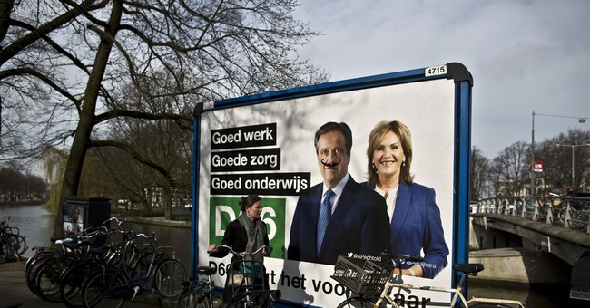 From far-left to far-right, the leaders of Dutch parties