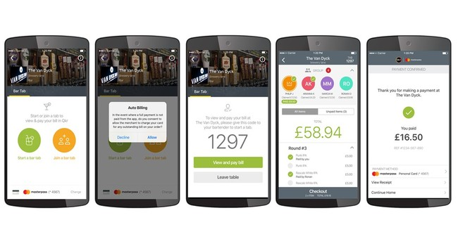 Coming soon, paying your tab without giving your credit card