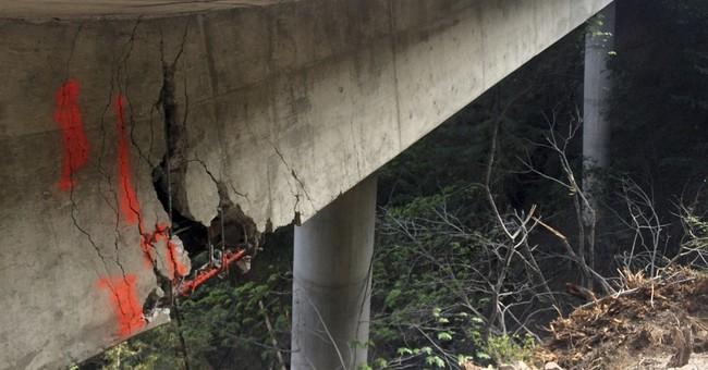 Demolition resumes on California's crumbling Big Sur bridge