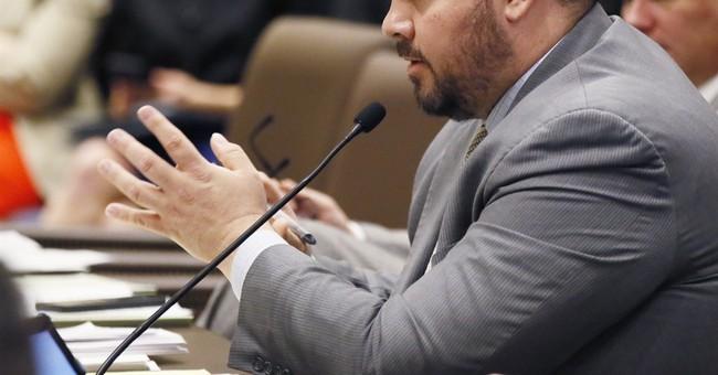 The Latest: Oklahoma governor calls on senator to step down
