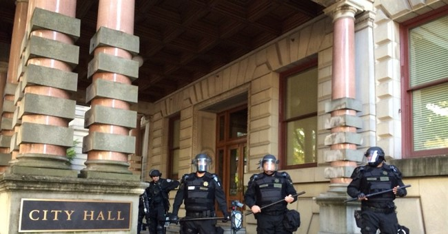 Ultra-liberal Portland moves to rein in protests