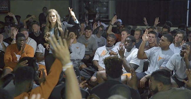 Activist aims to combat sexual assault by engaging athletes
