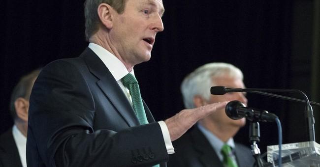 Irish leader's White House visit has serious undertones