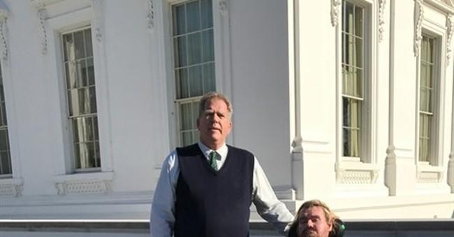 Mayor, terminally ill son at White House St. Pat's dinner