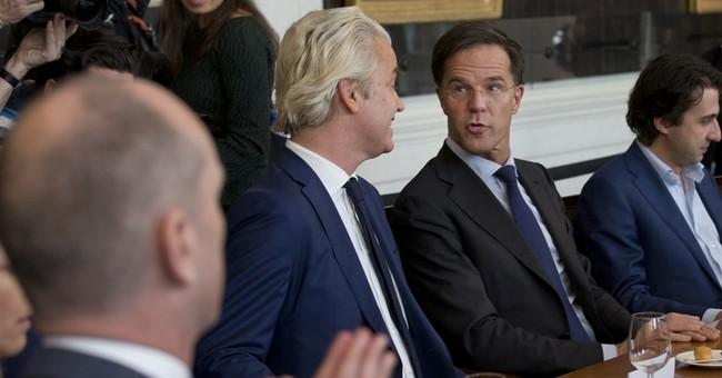 Centrist European leaders celebrate Dutch election result