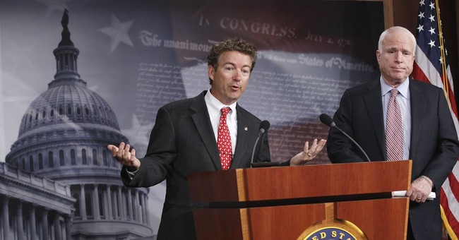 GOP Sen. Paul calls colleague McCain 'a little bit unhinged'