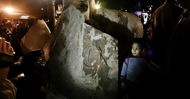 Egyptian statue recently unearthed is not Ramses II