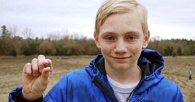 Teenager finds 7.44 carat diamond in Arkansas state park