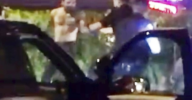 Video: California officer grabs driver before fatal shooting