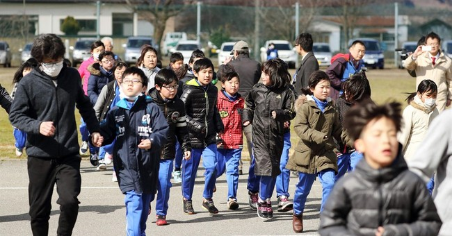 Japan holds first civilian missile evacuation drill