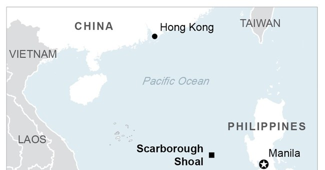 China plans 1st structure on disputed South China Sea shoal