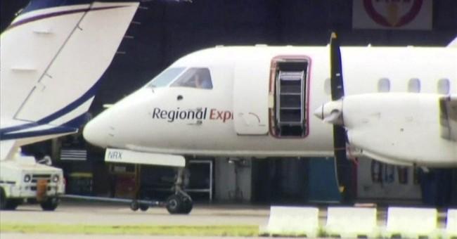 Plane lands safely in Australia after propeller falls off