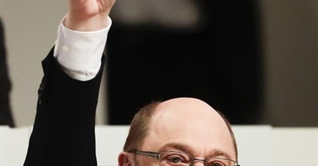 Germany's Social Democrats elect Schulz as Merkel challenger
