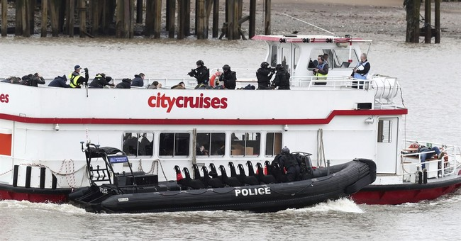 UK anti-terror police simulate Thames tourist boat hijacking