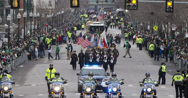 Revelers high-spirited at Boston St. Patrick's Day parade