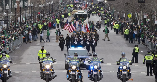 Revelers high-spirited at Boston St. Patrick's Day parade