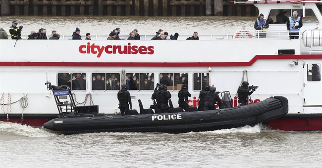 UK anti-terror police simulate Thames tourist boat hijacking
