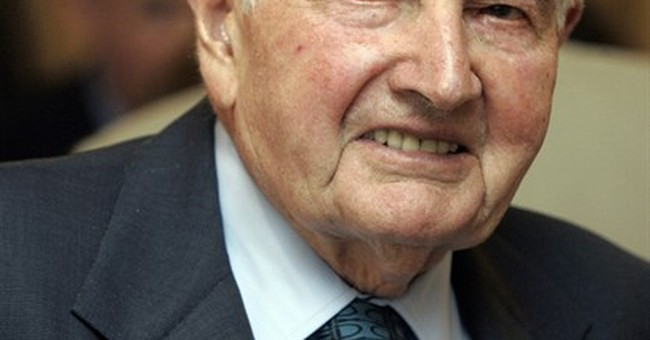 The Latest: Clintons say Rockefeller used fortune for good