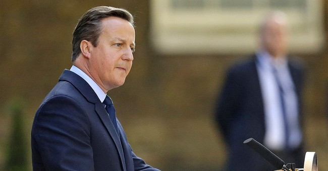 Cameron jokes he doesn't have to hear Trump wiretaps anymore