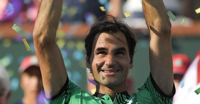 Wawrinka calls laughing Federer expletive on court