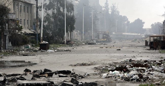 Syrian troops respond as rebels renew attack on Damascus