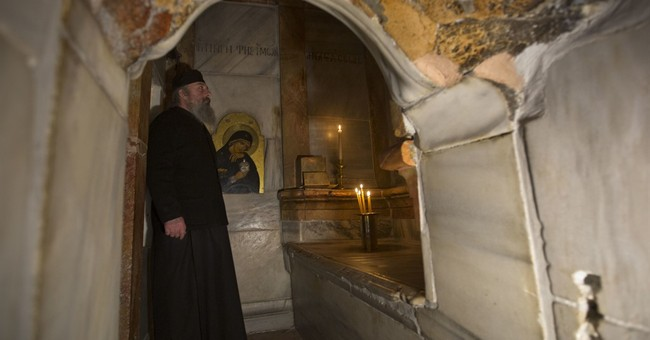 Historic restoration of Jesus' burial shrine completed