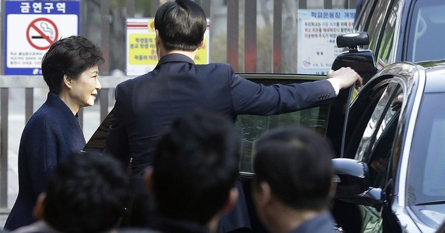S. Korea prosecutors grill Park over corruption allegations