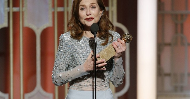 Isabelle Huppert is shocked by win for controversial 'Elle'