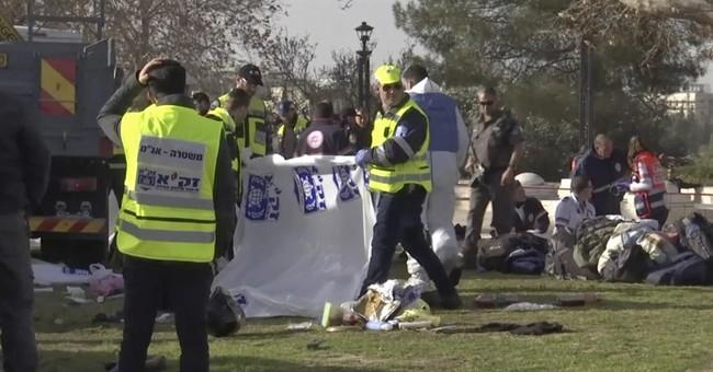 Truck attack kills 4 Israeli soldiers in Jerusalem