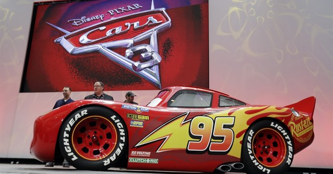 Young new car Jackson Storm tries to dominate in 'Cars 3'