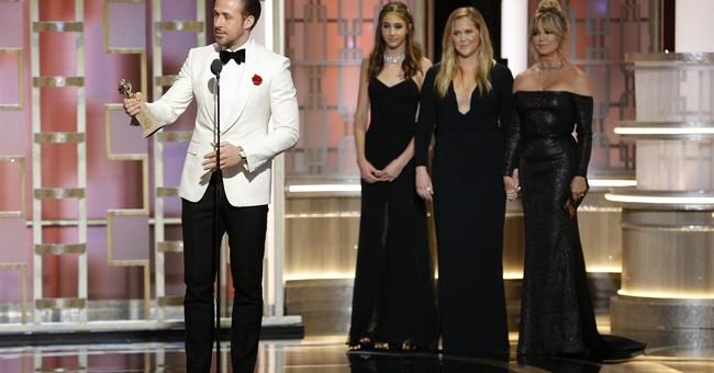 Gosling dances into stars with Golden Globe for 'La La Land'