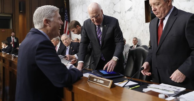 The Latest: Gorsuch says Trump disappointed he lost Colorado