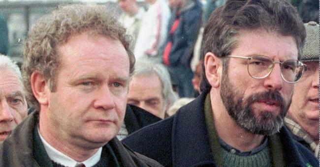 The Latest: Bill Clinton praises McGuinness for peace shift