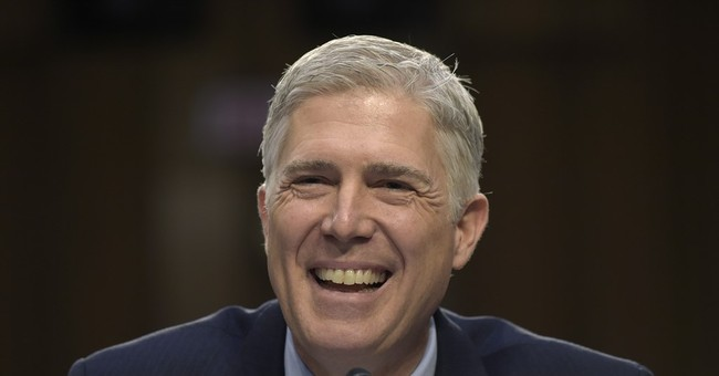 Gorsuch to Democrats: No return to 'horse and buggy' era
