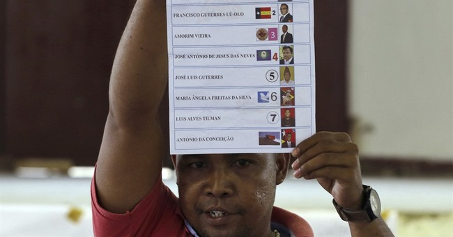 Former guerrilla fighter set to win East Timor presidency