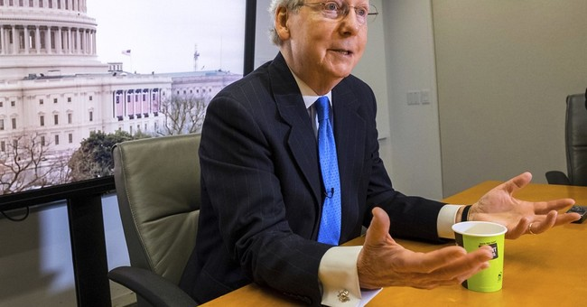 AP Interview: McConnell rejects Trump's foreign aid cuts