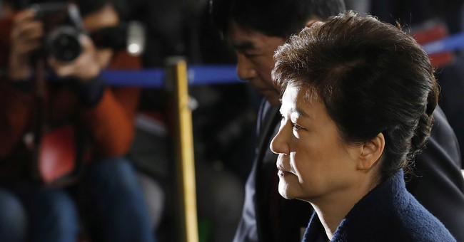 S. Korea prosecutors grill Park over corruption allegations
