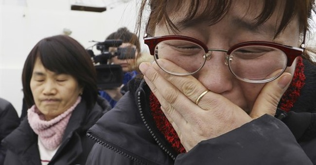 South Korean ferry that sank 3 years ago lifted from sea