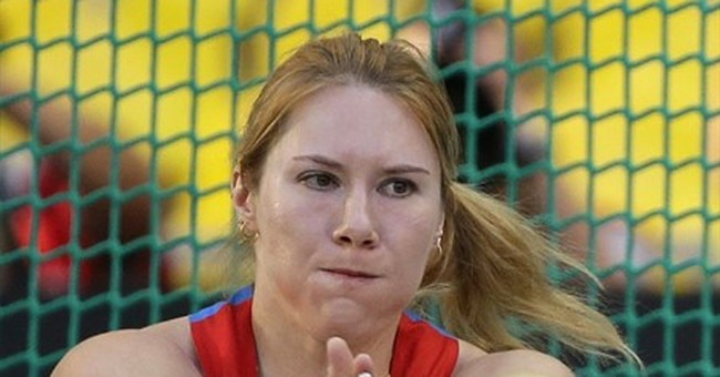 Russia says 3 disqualified from 2012 Olympics for doping
