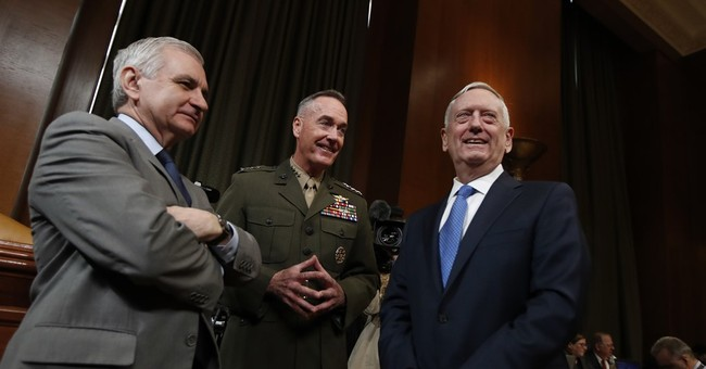 Mattis says he welcomes approval from Congress for IS fight