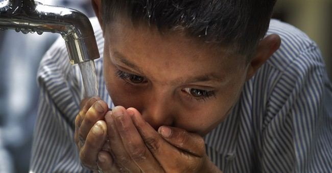 Hope flows into Indian village in the form of clean water