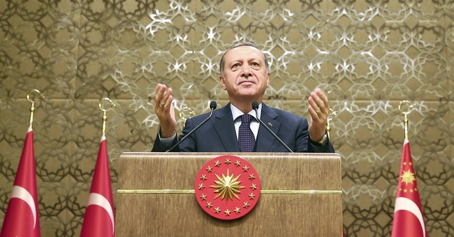 In Europe spat, Turkish president warns Westerners on safety