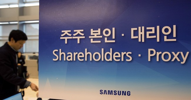 Samsung shareholders welcome stock price gains, rue scandals